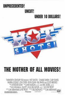 1991 - Hot Shots! Movie Poster