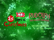 Disney XD Toons 25 Days Of Christmas Rudolph The Red Nosed Reindeer Promo 2018