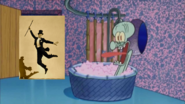 Fred Astaire Stops By And Squidward Screams