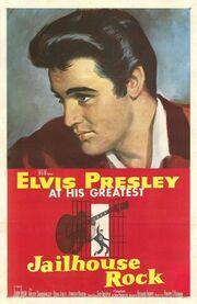 1957 - Jailhouse Rock Movie Poster 1