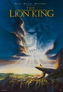 The Lion King 1999 Re-Release Poster