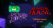 Disney XD Toons 31 Nights of Halloween Monster House Promo 2019