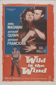 1957 - Wild is the Wind Movie Poster