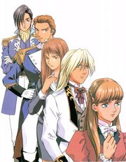 Mobile Suit Gundam Wing Characters