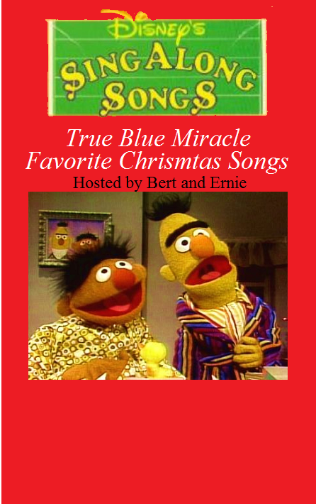 true blue miracle favorite christmas songs cover true blue miracle favorite christmas songs back cover disney sing along