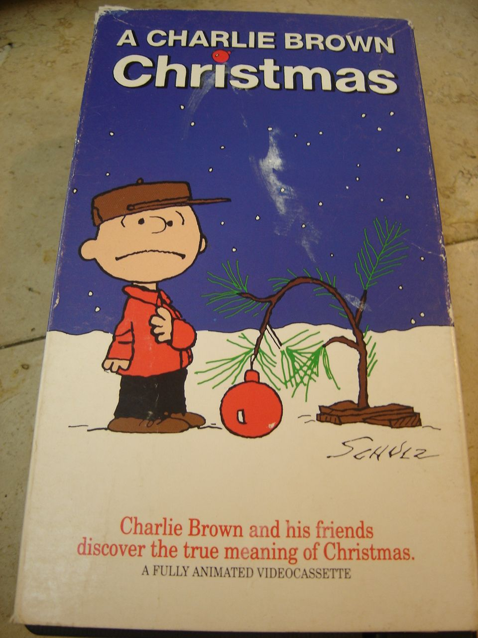 A Charlie Brown Christmas Vhs.Opening To A Charlie Brown Christmas 1981 Vhs Cbs Video