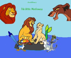 CoolZDane's The Little Mer-Lioness