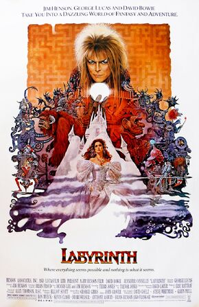 1986 - Labyrinth poster 2