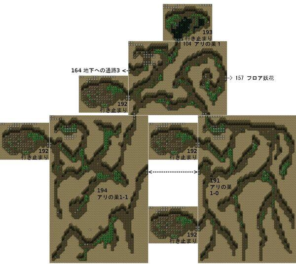 RyonaRPG - Rock mountain cave map 3