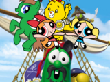 Brandonfieldcran123 and the Powerpuff Girls Adventures of The Pirates Who Don't Do Anything A VeggieTales Movie