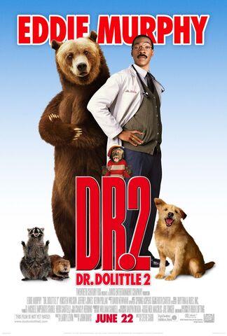 File:2001 - Dr. Dolittle 2 Movie Poster -2.jpg