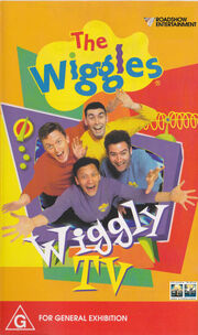 The wiggles wiggly tv columbia tristar australia vhs