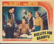 1942 - Bullets for Bandits Movie Poster
