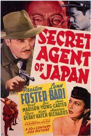 1942 - Secret Agent of Japan
