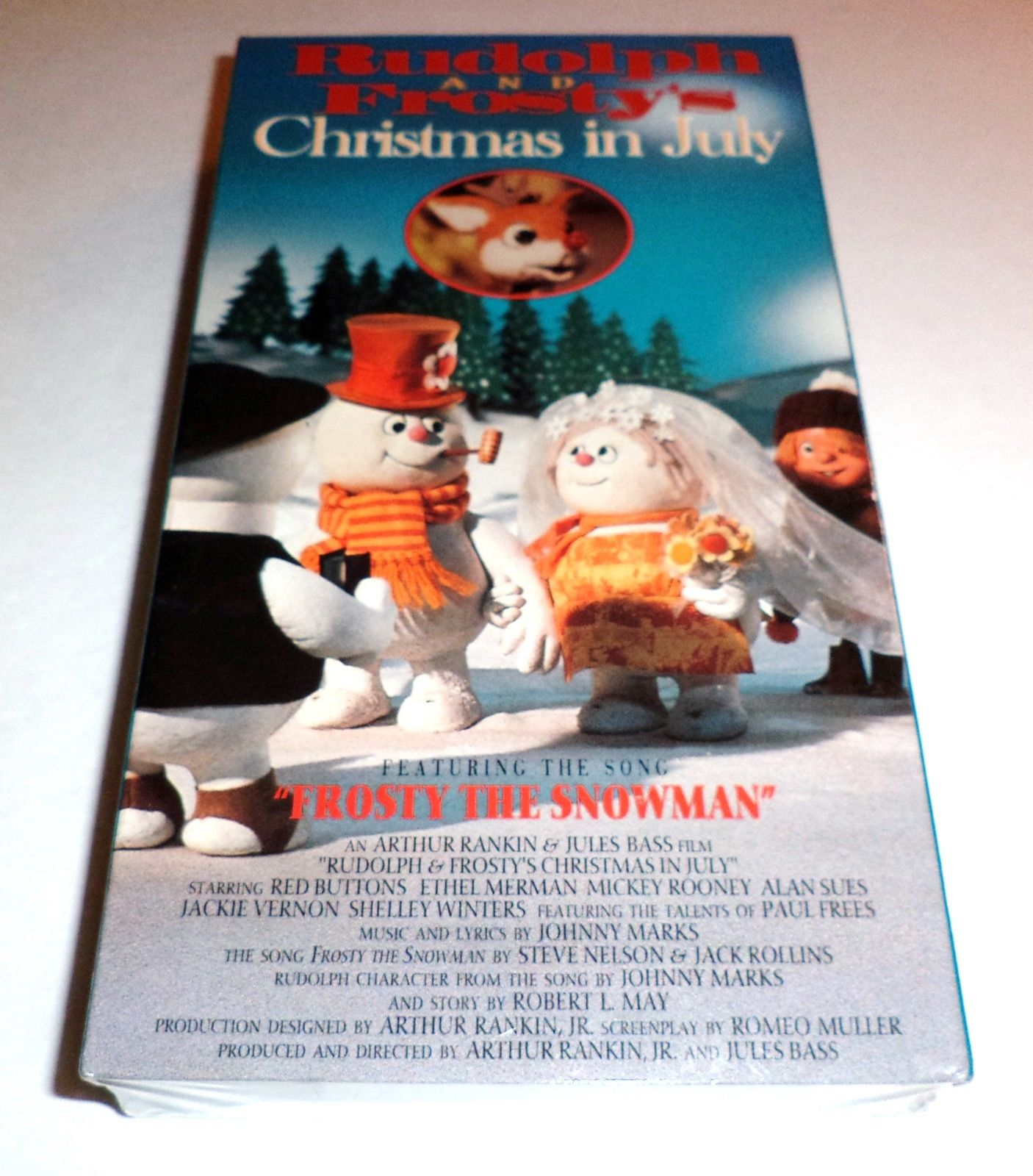 Opening To Rudolph And Frosty's Christmas In July 1988 VHS ...
