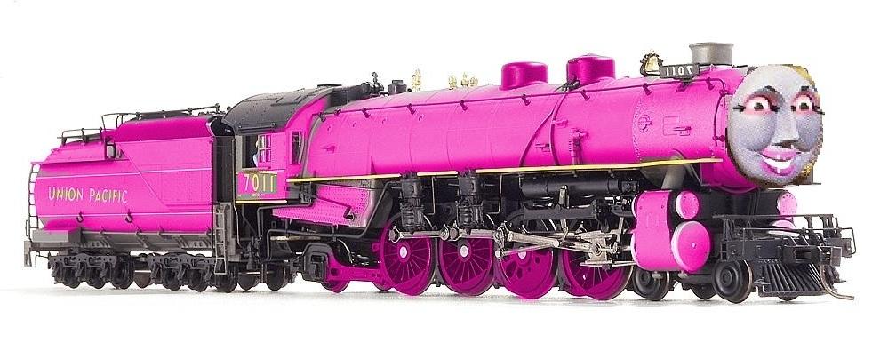 Chloe The Big Union Pacific Engine