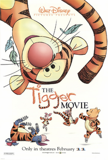 The tigger movie 2000 poster by lflan80521-dbdkmbl