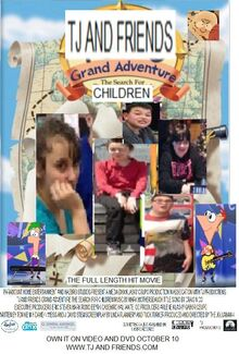TJ And Friends Grand Adventure (2000) VHS Poster