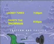 Toon Disney Toons Christmas Looney Tunes to Frosty the snowman 2001