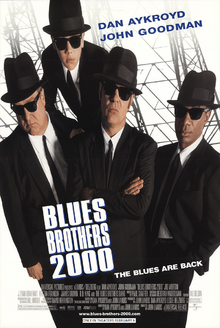 Blue Brothers 2000 (1998) Poster
