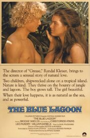 1980 - The Blue Lagoon Movie Poster
