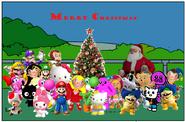 Merry christmas Hello yoshi