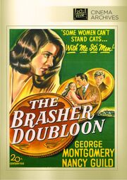 The Brasher Doubloon DVD Cover
