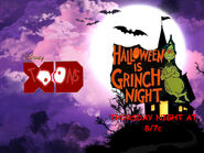 Disney XD Toons Theater Halloween Is Grinch Night Promo 2017