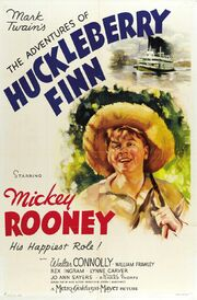 1939 - The Adventures of Huckleberry Finn Movie Poster