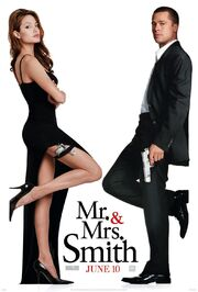 Mr and mrs smith 2005 poster