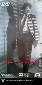 American Gigolo (1980) 2005 Australia DVD Cover (Roadshow Entertainment Print)