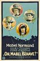 1922 - Oh, Mabel Behave.jpg