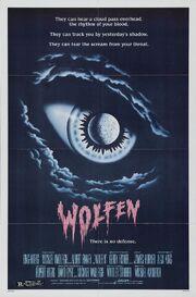 1981 - Wolfen Movie Poster