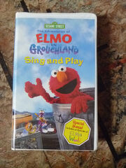 Elmo in Grouchland Sing and Play VHS