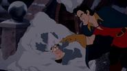 Gaston&LeFouInTheSnow