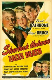 1943 - Sherlock Holmes Faces Death Movie Poster