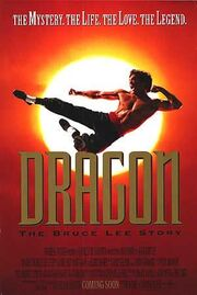 1993 - Dragon - The Bruce Lee Story Movie Poster