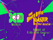 Disney XD Toons Theater The Brave Little Toaster To The Rescue Promo 2017