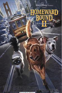 HomeWard Bound 2 (1996) Poster