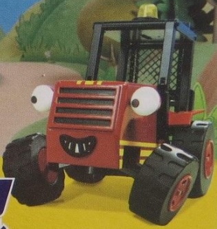 Sumsy the Red Forklift