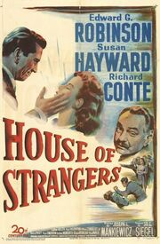 1949 - House of Strangers Movie Poster