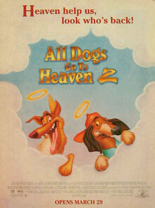 All Dogs Go To Heaven 2 (1996) Poster Ad