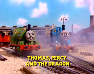 Thomas, Percy and the Dragon in this title card US