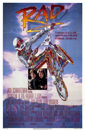 1986 - Rad poster