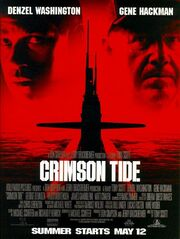 1995 - Crimson Tide Movie Poster