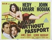1950 - A Lady Without Passport Movie Poster