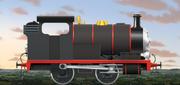 Aaron the Little Black Engine