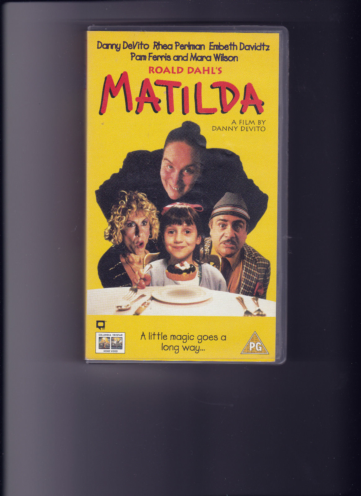 opening to matilda 1997 uk vhs (entertainment in video & columbia