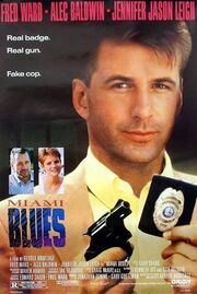 1990 - Miami Blues Movie Poster