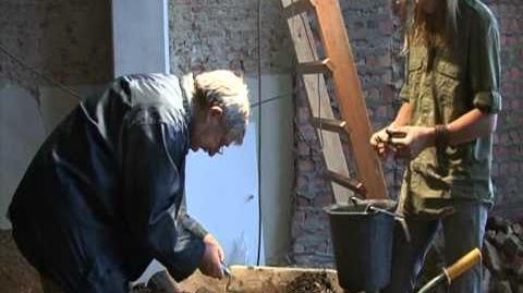 Archeologisch onderzoek in de winkel van Sanitair De Coninck Veemarkt 68